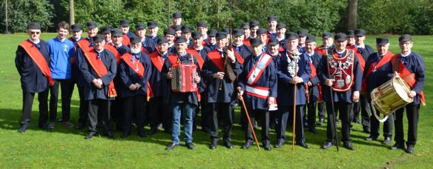12 mei 2019 : Begeleiden Koningsschieting Sint Sebastiaansgilde