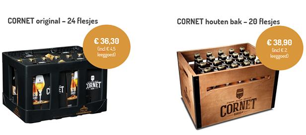 Cornet : Geen klank zonder drank!